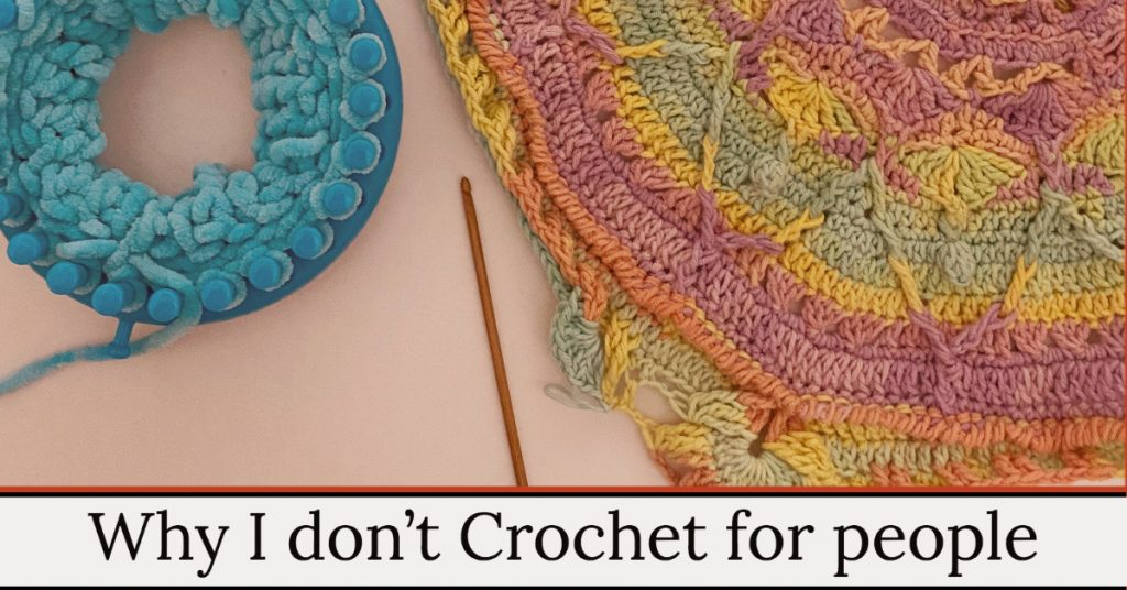 its better to teach people to crochet